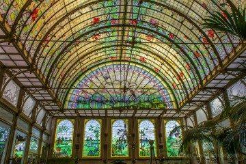 Belgica Flandes Malinas Winter Garden Modernismo