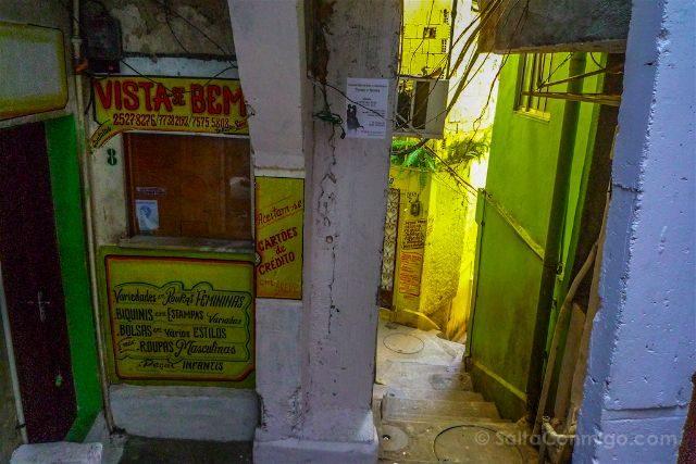 Brasil Rio De Janeiro Favela Santa Marta Tienda