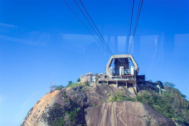 Brasil Rio De Janeiro Miradores Pan de Azucar Bondinho Morro Urca
