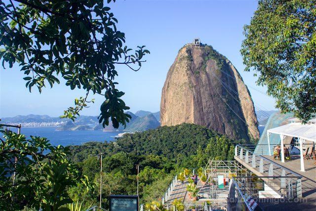 Brasil Rio De Janeiro Miradores Pan de Azucar Morro Urca