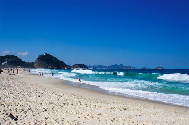 Brasil Rio De Janeiro Playa Copacabana Arena