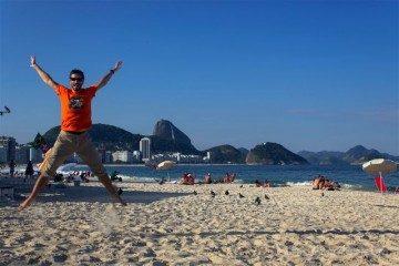 Brasil Rio De JaneiroPlaya Copacabana Salto