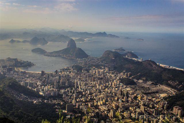 Brasil Rio De Janeiro Vista Corcovado