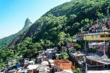 Brasil Rio de Janeiro Favela Santa Marta Arriba