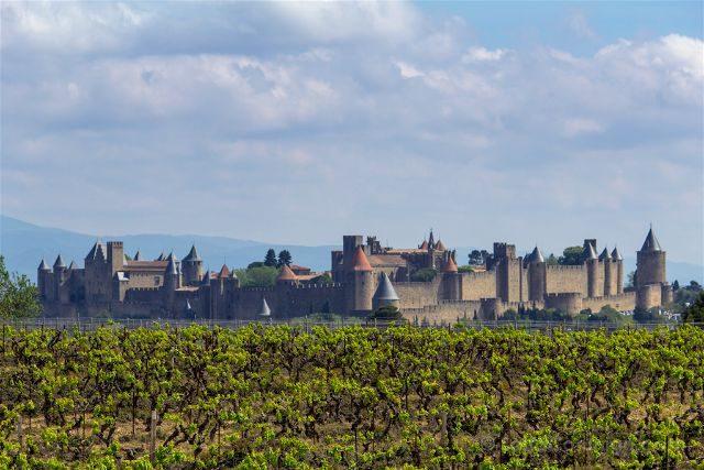 Que ver en Carcasona Carcassonne Ciudad Panorama Vides