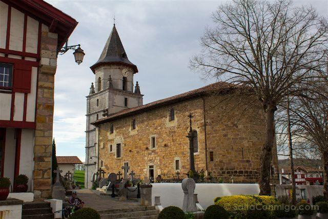 Francia Pais Vasco Frances Iparralde Ainhoa Iglesia Nuestra Senora Asuncion
