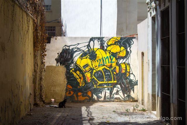 Grafitis Valencia Carrer Dalt