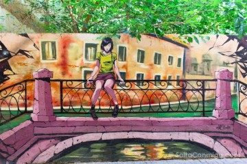 Grafitis Valencia Carrer Moret Deih Puente Venecia