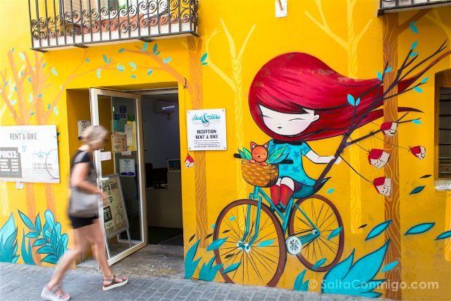 Grafitis Valencia Carrer Pintor Fillol Julieta XLF