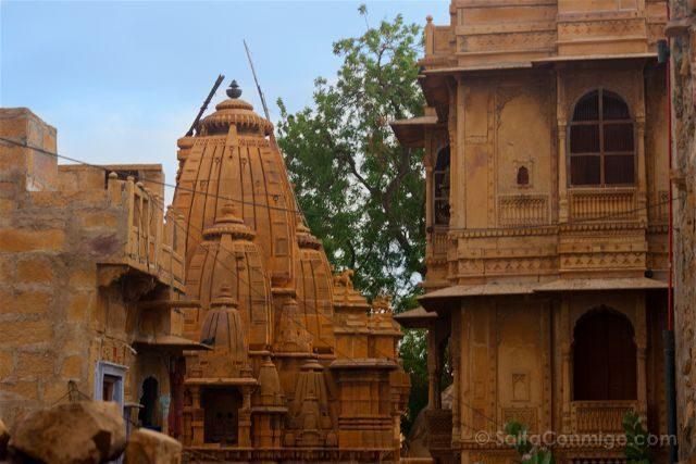 India Rajastan Jaisalmer Fuerte Calles