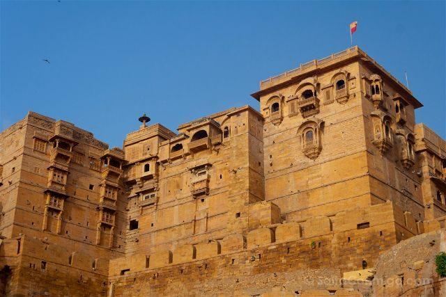 India Rajastan Jaisalmer Fuerte Murallas