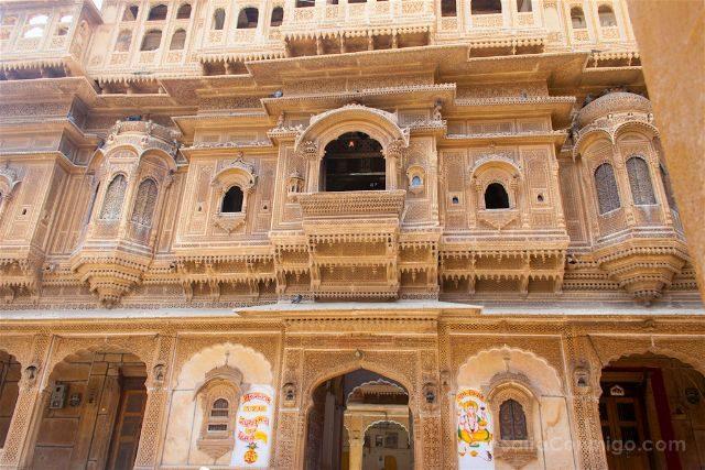 India Rajastan Jaisalmer Nathmal-Ki-Haveli