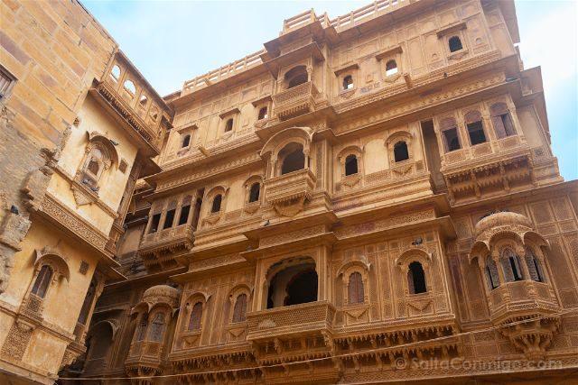 India Rajastan Jaisalmer Patwon-Ki-Haveli
