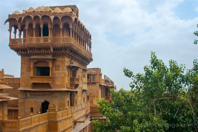 India Rajastan Jaisalmer Salim-Singh-Ki-Haveli