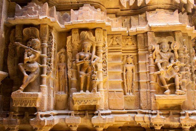 India Rajastan Jaisalmer Templo Jainista