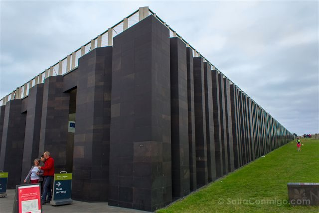 Irlanda del Norte Calzada del Gigante Giants Causeway Centro Visitantes Exterior