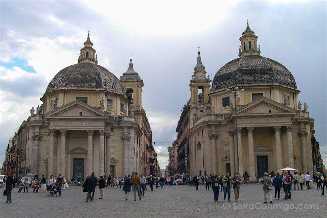Italia Roma Piazza Popolo