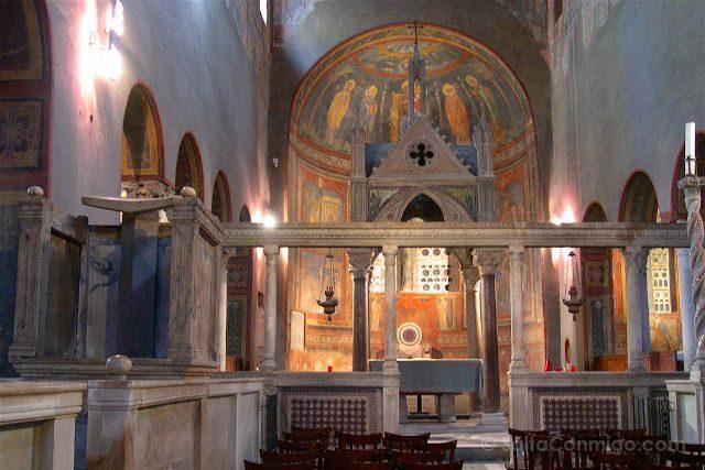 Italia Roma Santa Maria Cosmedin