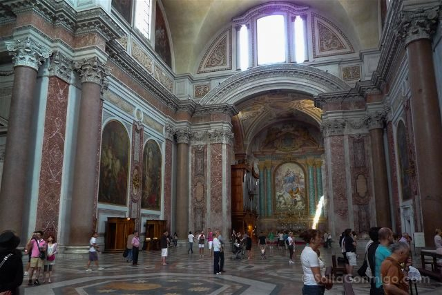Italia Roma basílica de Santa Maria de degli Angeli e dei Martiri