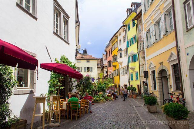 Italia Sudtirol Alto Adige Bolzano Calles