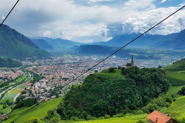 Italia Sudtirol Alto-Adige Bolzano Teleferico San Genesio