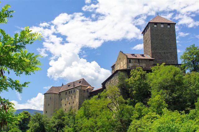 Italia Sudtirol Alto-Adige Castel Tirol Schloss