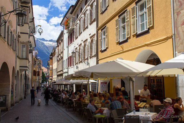 Italia Sudtirol Alto-Adige Merano Calles