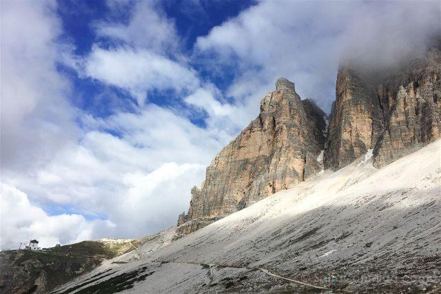 Italia Sudtirol Alto-Adige Trekking Tre Cime Lavaredo