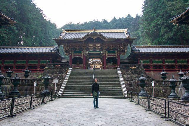 Japon Nikko Mausoleo Taiyuin Taiyuinbyo Puerta Yashamon