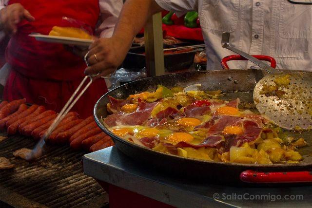 Madrid Verbena Paloma Huevos Rotos