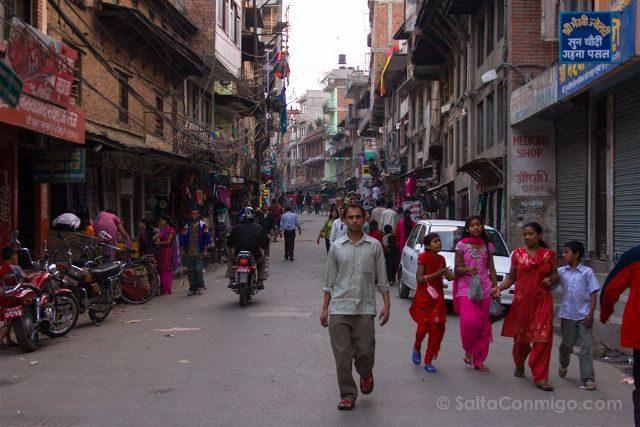 Nepal Katmandu Calles