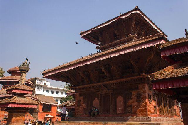 Nepal Katmandu Plaza Durbar Square