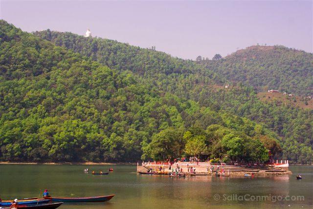 Nepal Pokhara Lago Phewa