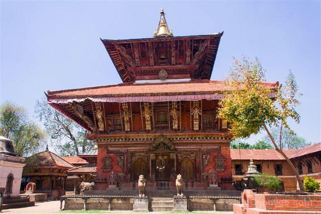Nepal Templos Changu Naranya