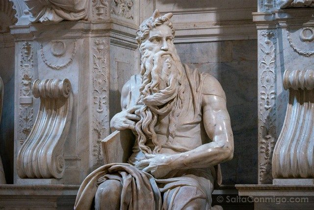 Que ver en Roma Basilica San Pietro Vincoli Moises Miguel Angel