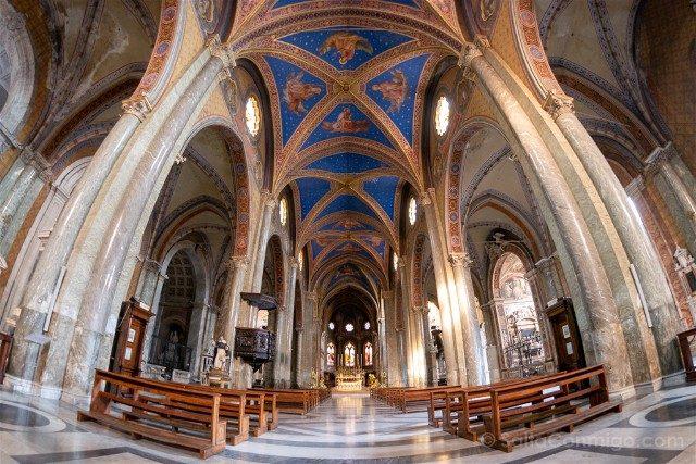 Que ver en Roma Basilica Santa Maria Sopra Minerva Interior