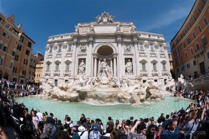Que ver en Roma Fontana Trevi