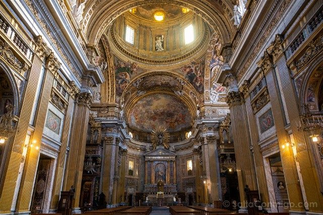 Que ver en Roma Iglesia Gesu Interior