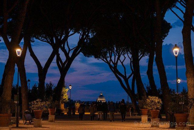 Que ver en Roma Jardin Naranjos Hora Azul