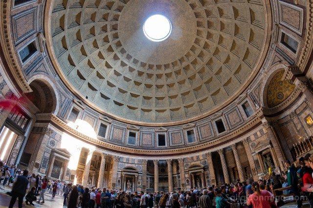 Que ver en Roma Panteon Interior