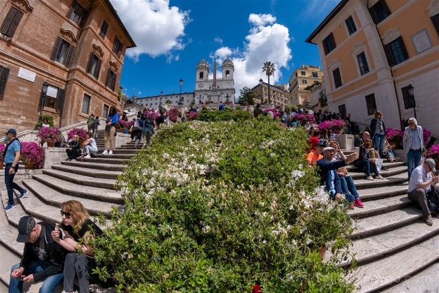Que ver en Roma Plaza Espana Escalinata