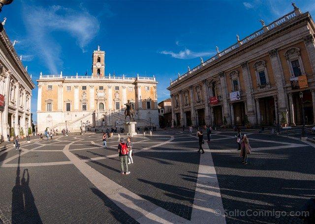 Que ver en Roma Plaza Campidoglio