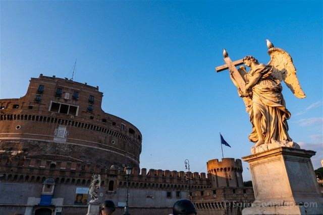 Que ver en Roma Ponte Sant Angelo Pasion