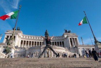 Que ver en Roma Vittoriano Salto