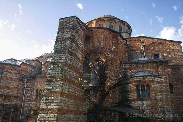 Turquia Estambul San Salvador Chora Kariye Camii Exterior