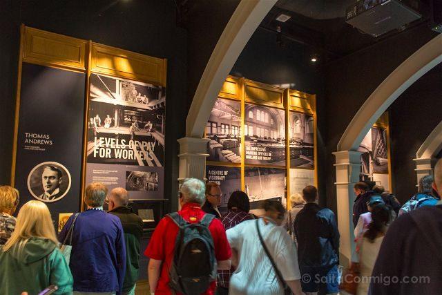 irlanda del norte belfast titanic interior primera sala