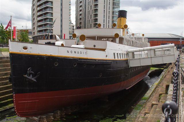 irlanda del norte belfast titanic nomadic