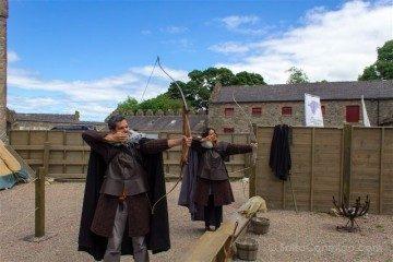 irlanda del norte juego de tronos game of thrones castel ward archery