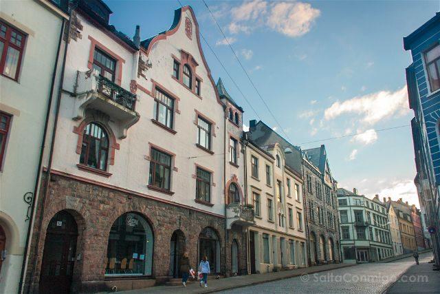 noruega alensund calles