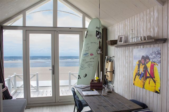 paises bajos holanda la haya kijkduin haagse strandhuisjes playa casitas interior